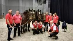L'équipe cavaliers de l'Etrier Picotin lors du salon d'Angers 2017
